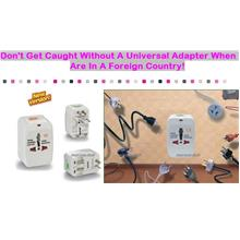 HOT: Universal Travel Adapter: RM19 instead of RM38 [50% OFF]