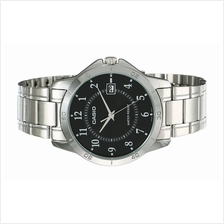 Casio Men Stainless Steel Date Watch MTP-V004D-1BUDF