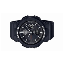 Casio BABY-G Ladies Neon Illuminator Black Sport Watch BGA-255-1ADR