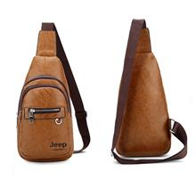 Jeep Sulppai Bag Leather Bag Men Shoulder Bag Crossbody Bag Sling Bag