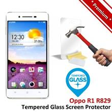 Premium Protection Oppo R1 R829 Tempered Glass Screen Protector