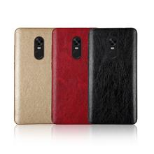 Crazy Horse Leather Hard Case for REDMI 4X 5 5A 5PLUS NOTE PRIME PRO