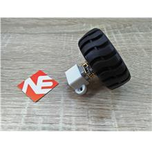 N20 Micro Gear Motor With Rubber Wheels 6V Robot Smart Car