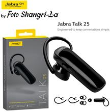 Jabra Talk 25 Mono Wireless Bluetooth In-Ear Earbud Headphone Headset HD calls