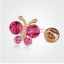 [DindabyV] Korean Style Mini Butterfly Brooch AB0093D