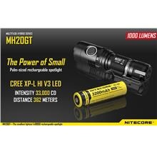 Nitecore MH20GT Utilizes Cree XP-L HI V3 LED Flashlight - 1000 Lumens