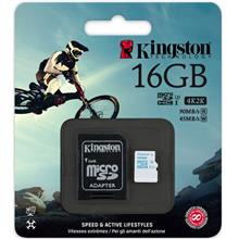 KINGSTON 16GB TF MICRO SDHCA CLASS 10 90MB/S (SDCAC/16GB)