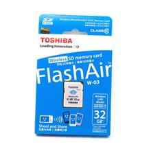 TOSHIBA FLASHAIR 32GB SD SDHC CLASS 10 WIFI MEMORY CARD (W-03)