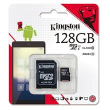KINGSTON 128GB TF MICRO SDHC CLASS 10 80MB/S MEMORY (SDC10G2/128GBFR)