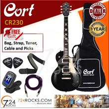 Cort CR230 BK Black CR-series Les Paul Electric Guitar