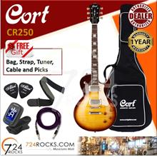 Cort CR250 VB Vintage Burst Les Paul CR-Series Electric Guitar