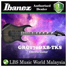 Ibanez GIO GRG170DXB-TKS Transparent Black Sunburst Solid Body Electri