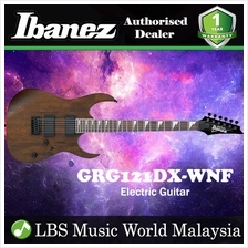 Ibanez GIO GRG121DX-WNFWalnut Flat Solid Body Electric Guitar (GRG121D