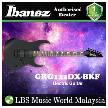 Ibanez GIO GRG121DX-BKF Black Flat Solid Body Electric Guitar (GRG121D