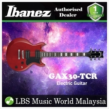 Ibanez GIO GAX30-TCR Transparent Cherry Solid Body Electric Guitar (GA