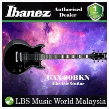 Ibanez GIO GAX30-BKN Black Night Solid Body Electric Guitar (GAX30)