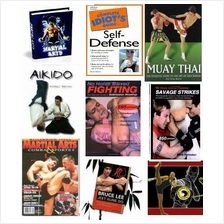 WOW! MANY Ebooks & Videos: Complete SELF DEFENSE & MARTIAL ARTS in CD