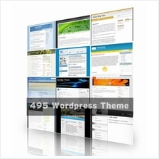 Premium 495 Wordpress Themes in a Huge Package!