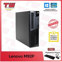 Lenovo M92P (SFF) Core i5 3.20GHz (Refurbished)