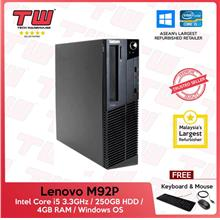 Lenovo M92P (SFF) Core i5 3.30GHz (Refurbished)