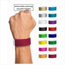 Customized Paper wristband,Custom made tyvek Paper Wristband Pre Order