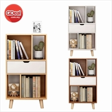 Wood Home Office Shelf Cube Bookshelf Organizing Cabinet (L76)