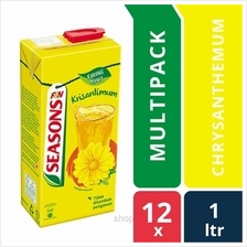 [12 packs] Seasons Chrysanthemum 1L Tetra Pack)