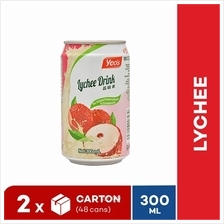 [Bundle] YEO'S 300ml Lychee ASD CD Drink (24 cans x 2 Cartons))