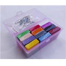 Polymer Clay Set - Miniature Modelling Home Decoration (24colors)