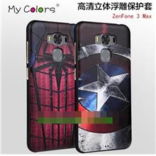 Asus ZenFone 3 Max ZC553KL 5.5inch 3D Silicone Case Cover Casing +Gift