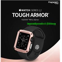 Original Spigen Apple Watch 1 2 Tough Armor Case Cover Casing @42mm