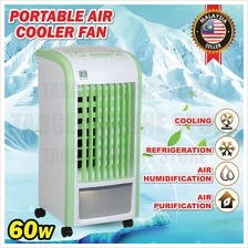Portable Air Cooler Fan Air Conditioner Cooling Soothing Wind 60W Home