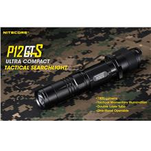 Nitecore P12GTS Utilizes Cree XHP35 HD LED Flashlight - 1800 Lumens