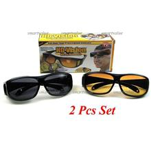2 Units!  Day & Night Driving HD Polarized Glasses with UV Protection