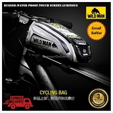 Wild Man H3S Touch Screen Water Proof Luminous Cycling Pouch Bag