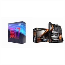 # BUNDLE : Intel Core i7-9700K + GIGABYTE Z390 AORUS ULTRA #: Best Price in  Malaysia