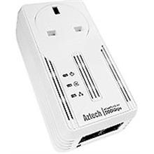 AZTECH HomePLUG Wired 500MBPS W/AC Pass Through (HL117EP) SINGLE