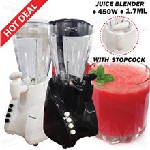 Fruits Blender Mixer Juices Smoothie DIY Drinks Maker Stopcock 450W
