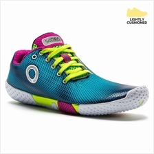 SKORA Womens Fit Shoes (Cyan/Fluorescent Yellow/White)