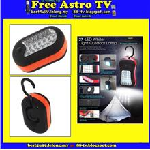 Lampu LED lamp working camping tent fishing light emergency car safety