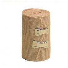 BROWN ELASTIC CREPE BANDAGE 5CM X 4METRE STRETCHABLE
