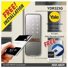 Yale YDR 323G digital door Grill Gate Lock c/w Remote Control