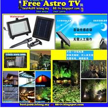 Lampu Panel Solar Power LED Lamp Floodlight Spotlight Flood Spot Light