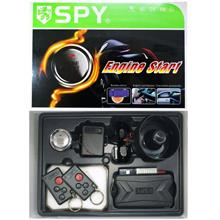 SPY Keyless Entry Car Alarm With Push Start Button