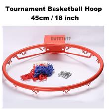 45cm 18 inch Tournament Standard Size Basketball Rim Ring Hoop