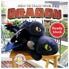 How to Train Your Dragon Toothless Night Fury Soft Plush Toy