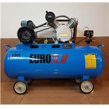 Eurox Air Compressor 3hp 12bar 100Lts B0189