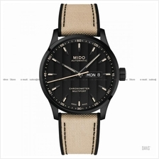 MIDO M038.431.37.051.09 MULTIFORT CHRONOMETER Gent Auto fabric beige