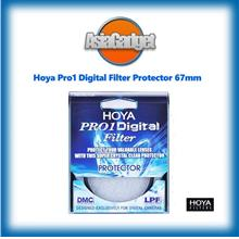 67mm Genuine Hoya Pro1 Digital Filter Protector FREE Sandisk 32Gb SDHC