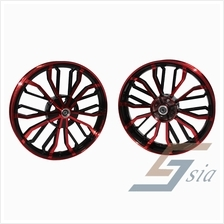 Yamaha Y15ZR BS2 Racing Sport Rims (Red/Black)